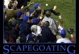 scapegoating