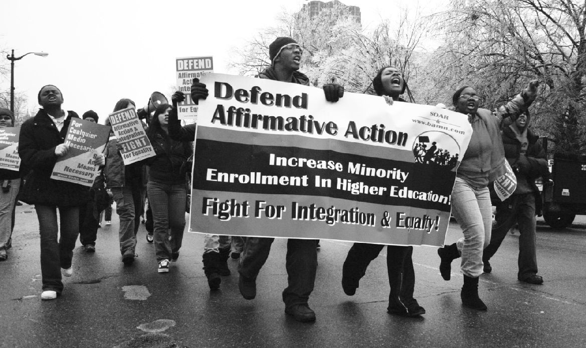 Affirmative-Action-demonstration