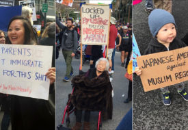 Credit: Reader-submitted photos from the Women's March on Washington and satellite marches across the United States, at http://blog.angryasianman.com/